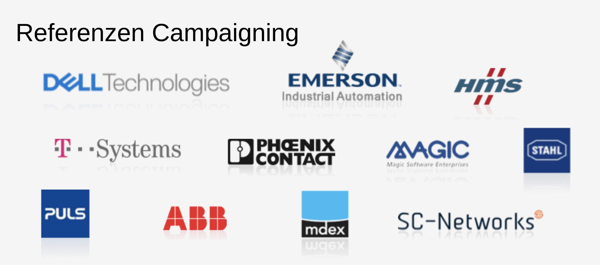 Referenzen Campaigning