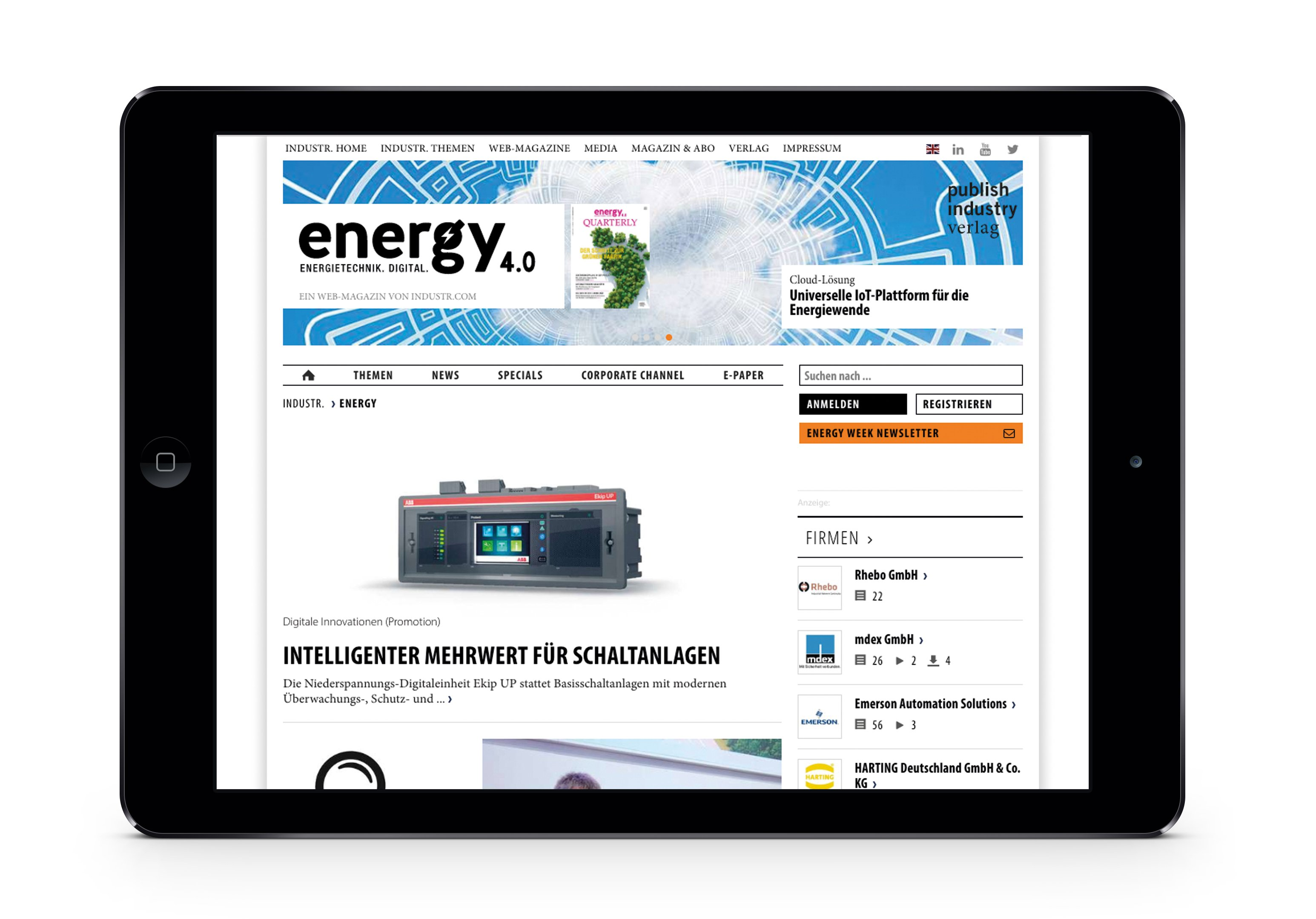 Energy 4.0 – Digital
