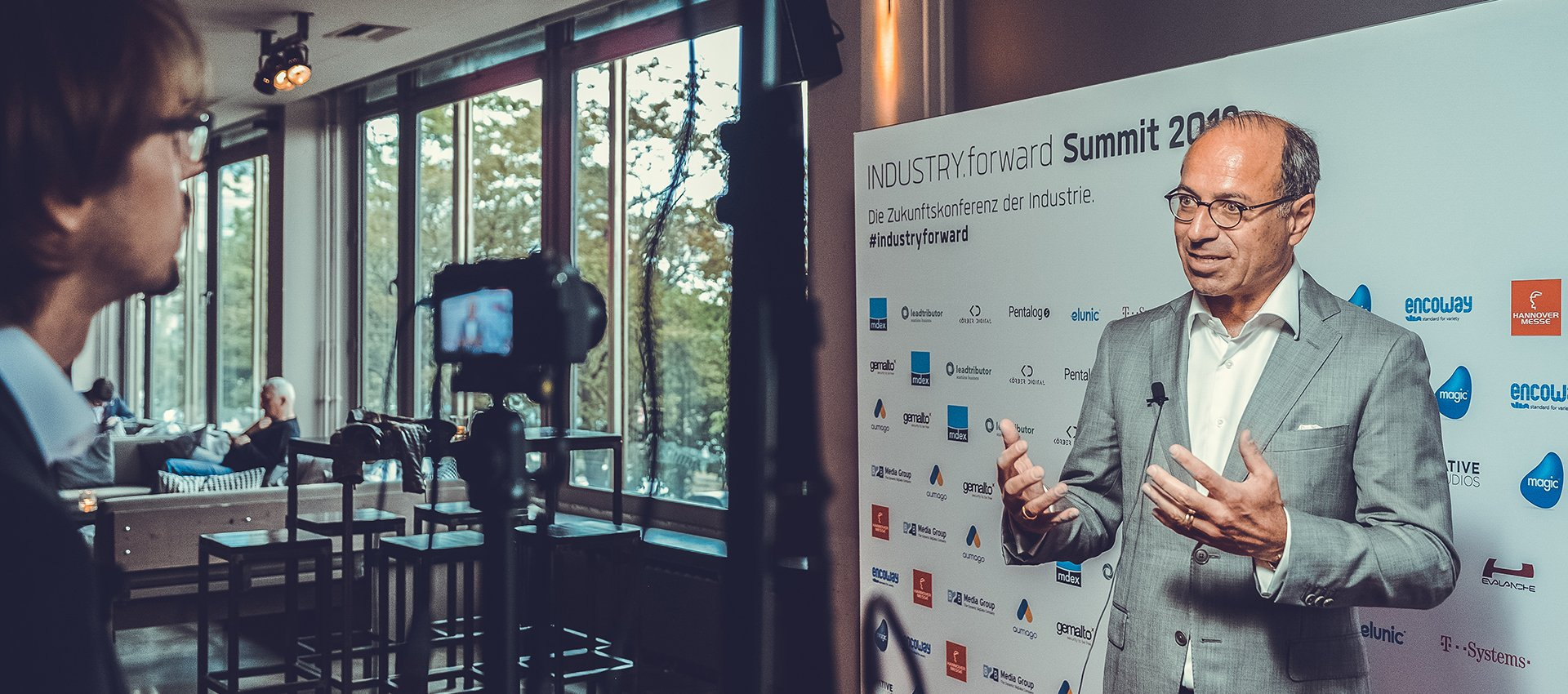 Industry.forward Summit 2019 – Interview
