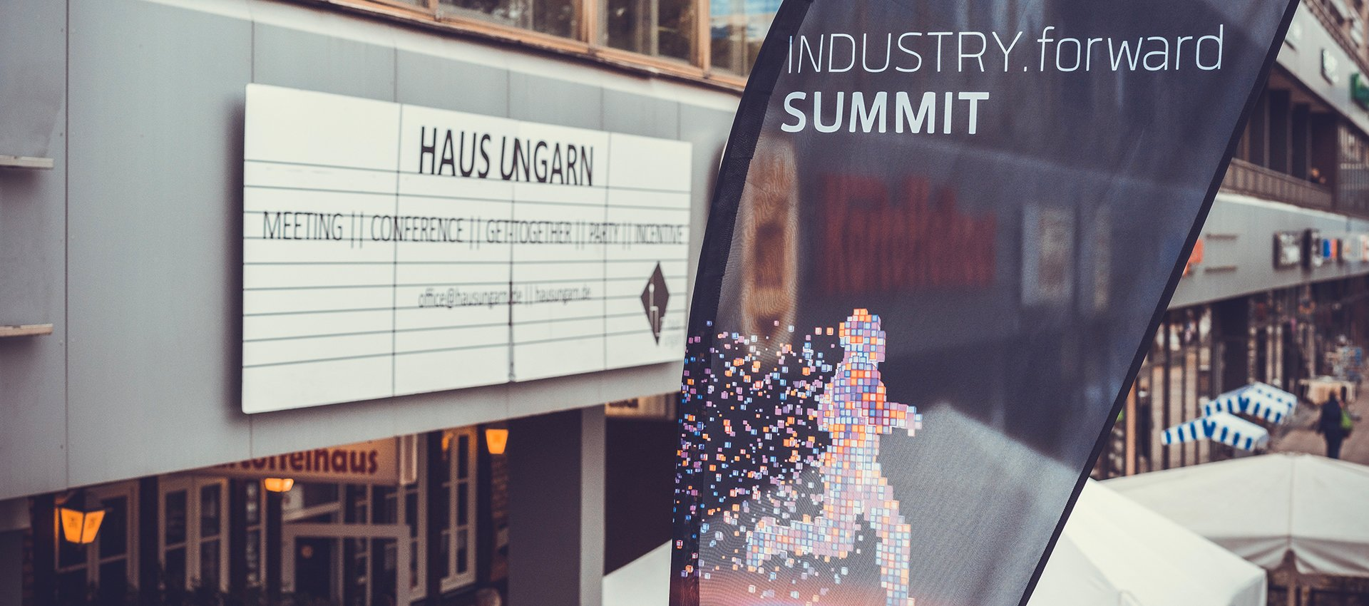 Der INDUSTRY.forward Summit im Haus Ungarn